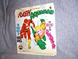 THE FLASH & AQUAMAN 1975 Power Records 33 SEALED #2301