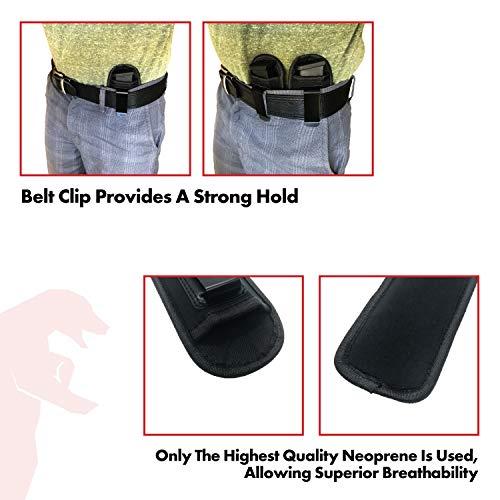 Bear Armz Tactical Universal IWB Magazine Pouch 9mm  40  45
