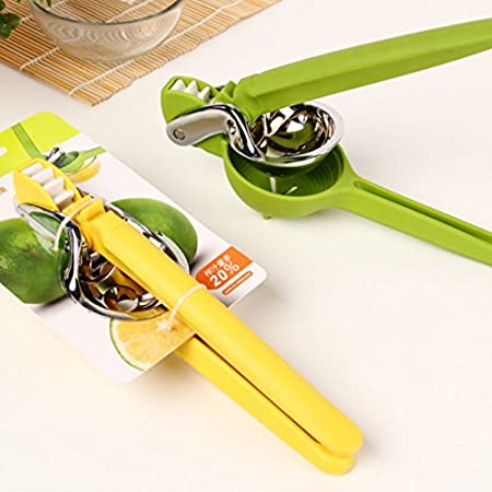 Amazon.com: Long Vision Manual Juicer Lemon Squeezer Citrus Juicer with Durable Nylon Handle (Lemon): Kitchen & Dining