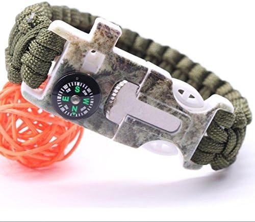 DSZ pulseras de pulsera de supervivencia de emergencia línea ...