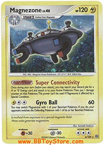 Pokemon Diamond & Pearl Stormfront Single Card Magnezone #6 Holo Rare [Toy]