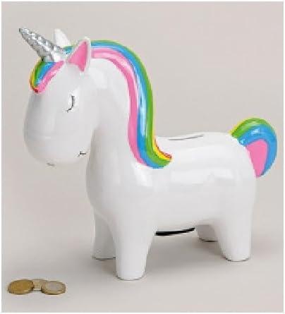 Bavaria Home Style Collection Unicornio – Hucha – Vacaciones – Caja registradora – Hucha – Hucha: Amazon.es: Juguetes y juegos