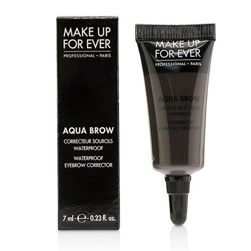 (Make Up For Ever Aqua Brow - Waterproof Eyebrow Corrector 40 - Brown Black )