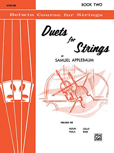 Belwin Course (Duets for Strings for Violin, Book II: 2 (Belwin Course for Strings))