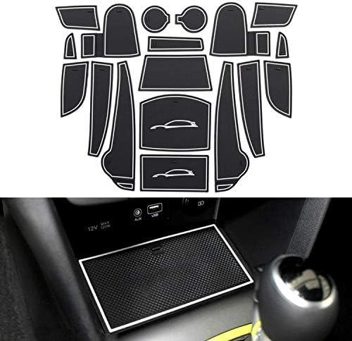 Yee Pin Auto Türnut Anti Rutsch Pad Kompatibel Mit Hyund A I Kona 2018 2019 Autoinnenausstattung Wasserbecher Aufbewahrungsbox Anti Rutsch Matte Gummimatte Antirutschmatten Ohne Logo Auto