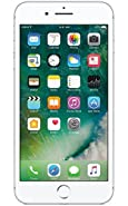 Apple iPhone 7 Plus, GSM Unlocked, 256GB - Silver (Certified Refurbished)