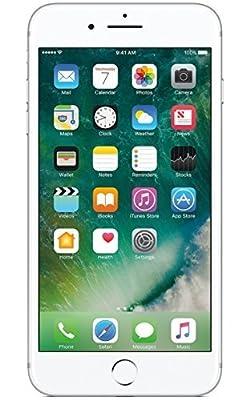 Apple iPhone 7 Plus, GSM Unlocked, 256GB - Silver (Certified Refurbished)
