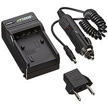 Wasabi Power Battery Charger for Sony BC-TRV, NP-FV30, NP-FV50, NP-FV70, NP-FV100 and Sony DCR-SR15, SR21, SR68, SR88, SX15, SX21, SX44, SX45, SX63, SX65, SX83, SX85, FDR-AX100, HDR-CX105, CX110, CX115, CX130, CX150, CX155, CX160, CX190, CX200, CX210, CX220, CX230, CX260V, CX290, CX300, CX305, CX330, CX350V, CX360V, CX380, CX430V, CX520V, CX550V, CX560V, CX580V, CX700V, CX760V, CX900, HC9, PJ10, PJ30V, PJ50, PJ200, PJ230, PJ260V, PJ340, PJ380, PJ430V, PJ540, PJ580V, PJ650V, PJ710V, PJ760V, PJ790V, PJ810, TD10, TD20V, TD30V, XR150, XR155, XR160, XR260V, XR350V, XR550V, HXR-MC50U, NX3D1U, NX30U, NX70U, NEX-VG10, VG20, VG30, VG30H, VG900, DEV-3, DEV-5, DEV-50