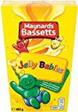 Bassetts Jelly Babies Carton 460 g (Pack of 3)