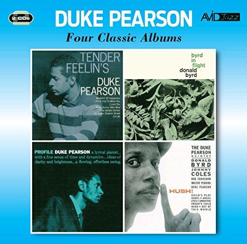 4 Classic Albums: Tender Feelin's / Byrd In Flight / Profile / Hush (Avid Profile compare prices)