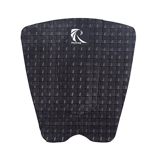 Raystreak Surfboard Traction Pad - 3 Piece Stomp Pad Surf Deck Grip Fitting All Boards - Surfboards, Shortboards, Longboards, (Deck Traction)