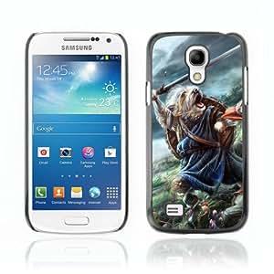 CaseCaptain Carcasa Funda Case - Samsung Galaxy S4 MINI / Brave Cute Battle Dog /