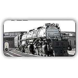 Union Pacific Big Boy Locomotive Train Black And White iPhone 6 Armor Phone Case