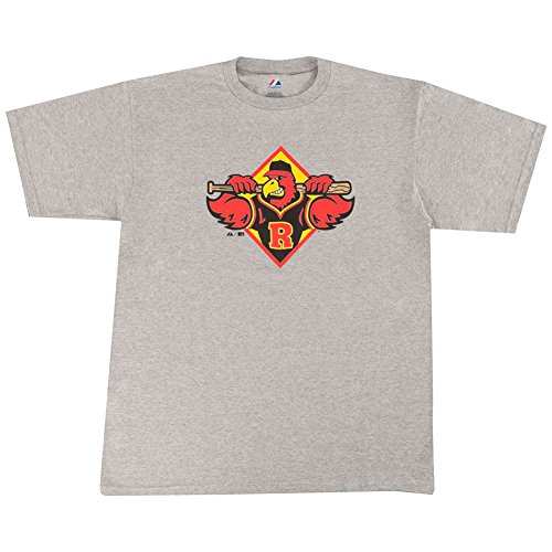 Rochester Red Wings Minor League Adult Replica T-Shirt (2X) - Red Wings Girls Shirt