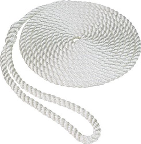SeaSense Nylon Dockline, 5/8-Inch X 25-Foot (Dock Twisted Line Nylon)