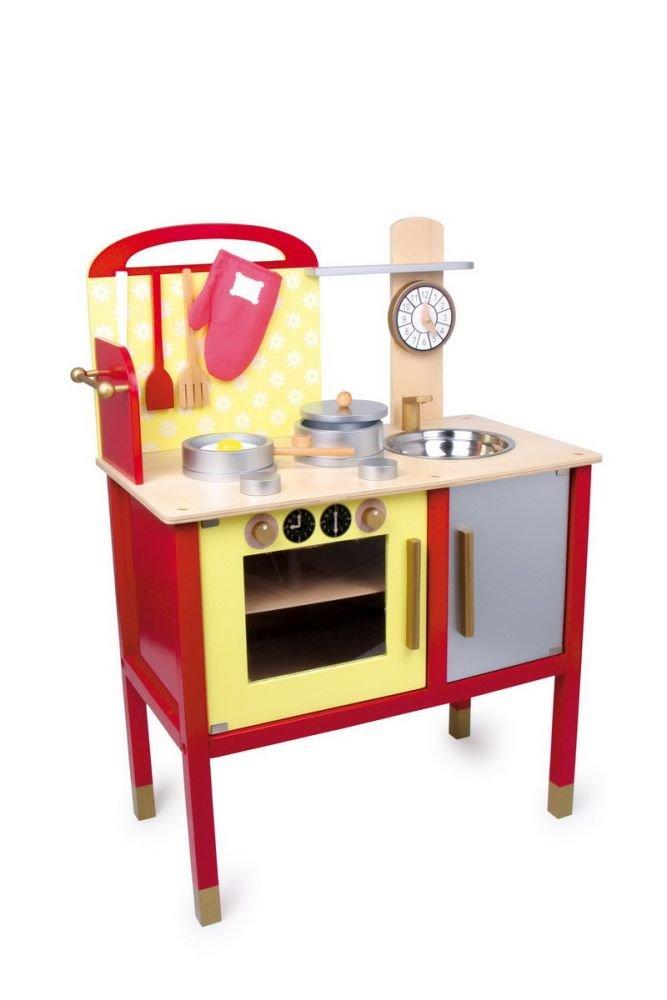Kinderküche Rot - Legler Kinderküche Denise