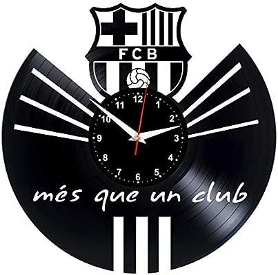 Barcelona Reloj de Pared Vinilo Tocadiscos Retro de Reloj ...