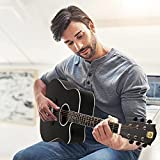 Vangoa Acoustic Guitar, Dreadnought Cutaway 41 Inch