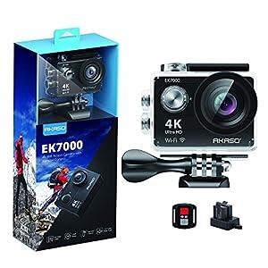Flashandfocus.com 51kfK3PkF4S._SS300_ AKASO EK7000 4K30FPS Action Camera Ultra HD Underwater Camera 170 Degree Wide Angle 98FT Waterproof Camera