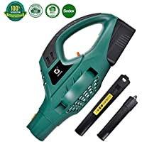 XGeek18V Blower Cordless Garden Lawn & Leaf Electric Blower with Lithium-Ion Battery