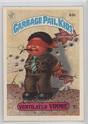Ventilated Vinnie (Two Star Back) (Trading Card) 1985 Topps Garbage Pail Kids Series 2 - [Base] #82b.2 ()