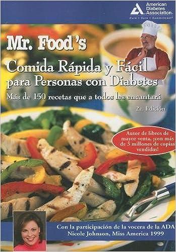libro de comida rápida para la diabetes