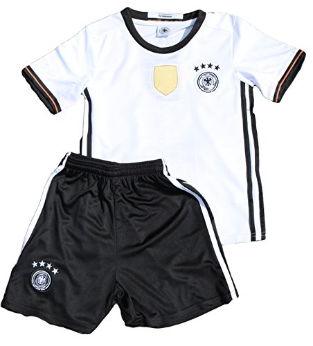 Deutschland Trikot Set Kinder 4 Sterne 110-140 122/128