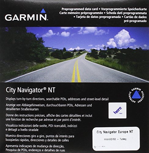 (Garmin City Navigator 2012 Turkey Map microSD)