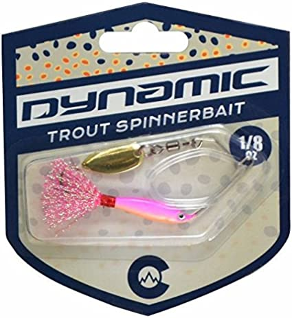 Dynamic Lures Trout Attack Swim-Jig GLOW