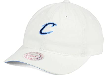 1fa2a5e3 ... hot mitchell ness nba white slouch washed cotton dad hat adjustable cleveland  cavaliers d5b48 aa605