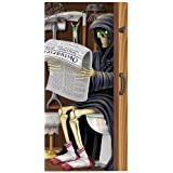 Beistle 22 Grim Reaper Restroom Door Cover, 30-Inch X 5-Feet, Multicolor, Multicolored