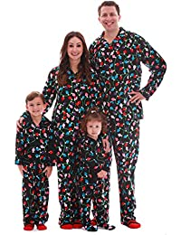 Matching Christmas Pajamas for Family and Couples