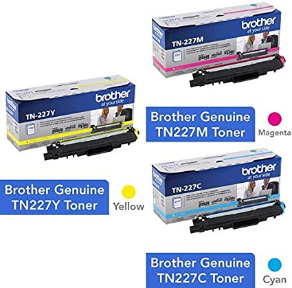 Brother Genuine TN-227C High Yield Cyan Toner Cartridge