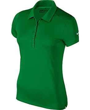 Nike Victory Solid Golf Polo 2016 Womens Classic Green Small ...