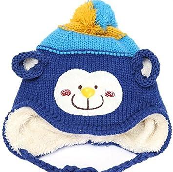 fded42dfd2a9 Bonnet pour bébé et enfant bébé Bonnet enfants bonnet en tricot tissage  Kids Baby Capuchon Chapeau