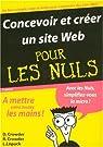 Concevoir et créer un site Web Pour Les Nuls par Crowder