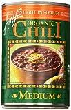Amy's Light in Sodium Organic Chili, Medium, 14.7 Ounce (Pack of 6)