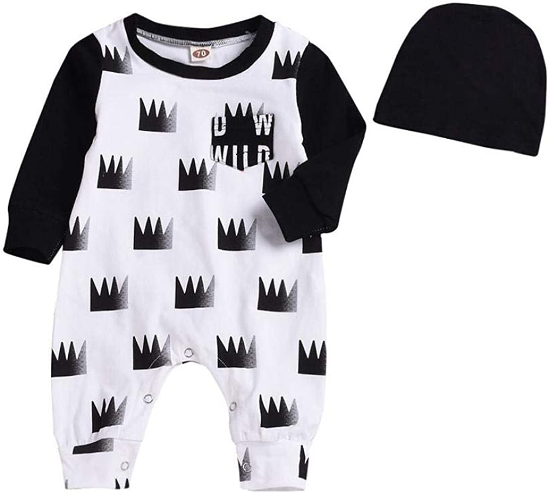 Baby Jumpsuit Infant Bodysuit Toddler Long Sleeve Cotton Keep Warm Romper Kids Boys Halloween Solid Outfits Clothes