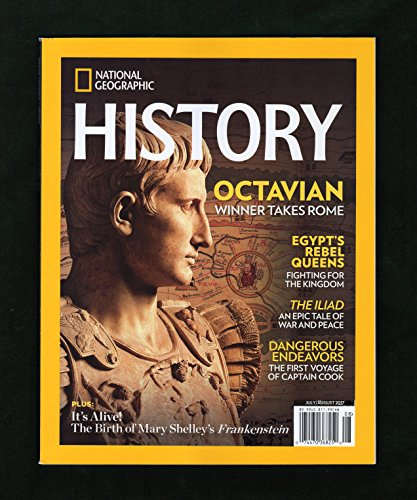 National Geographic History - July - August, 2017. Altamira- Cave of Prehistoric Wonders; Emperor Octavian; Egypt's Rebel Queens (Tetisheri, Ahhotep, Ahmose Nefertari); The - Magazine Eyeglasses