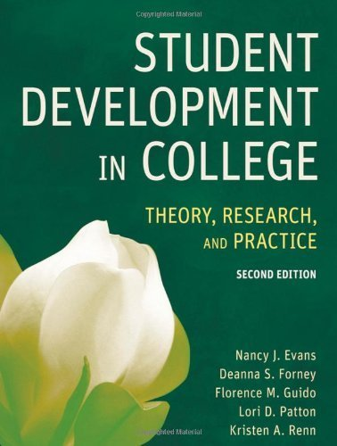 Student Development in College by Nancy J. Evans, Deanna S. Forney, Florence M. Guido, Lori D.. (Jossey-Bass,2009) [Hardcover] 2ND EDITION