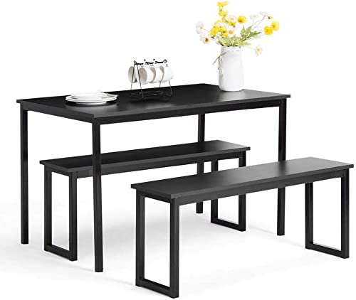 Depointer 3 Pieces Dining Set