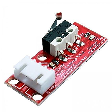 Bitbot3d® End Stop para Impresora 3D o CNC. Para Prusa i3 ...