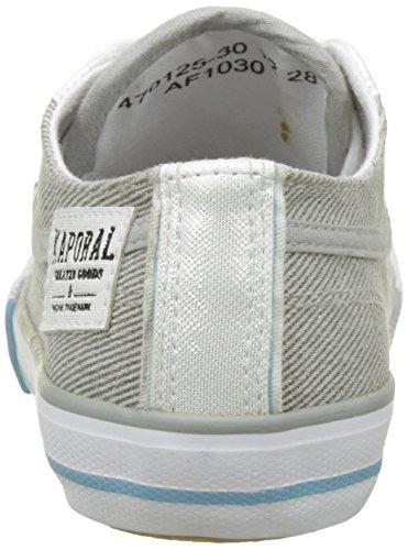 KaporalIcario - botas de caño bajo Unisex Niños Gris (Gris Paillette)