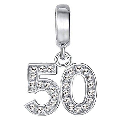 pandora 50 anni charm