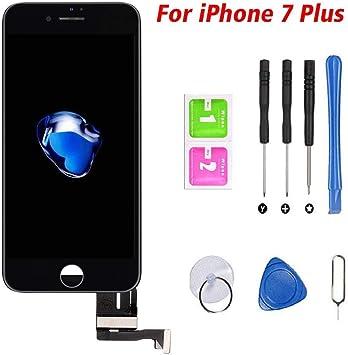 Hoonyer Pantalla para iPhone 7 Plus Pantalla táctil LCD Kit de ...