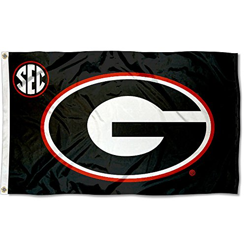(College Flags and Banners Co. Georgia UGA Bulldogs SEC 3x5 Flag)