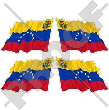 Venezuela EX Estado Bandera de saludando (7 Star) venezolana. América del Sur 2