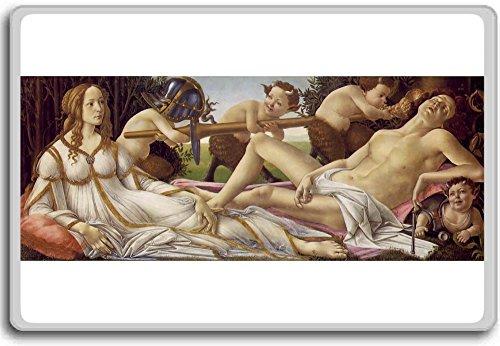 Botticelli - Venus And Mars classic art fridge magnet - Venus And Mars Botticelli