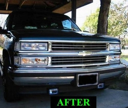 2000 chevy s10 grille removal