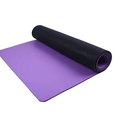 Tapis de yoga / anti-dérapant plus épais tapis d'exercice / pad d'intérieur de danse de TPE / 183 * 68CM ( Couleur : Violet )